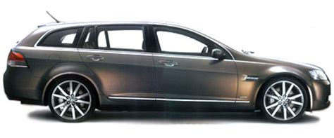 Holden Ve Wagon And Hsv Maloo Ute Leaked Again