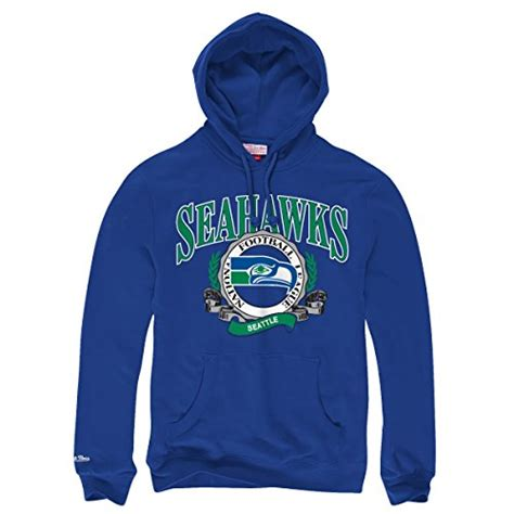 seattle seahawks mitchell ness nfl fair catch pullover