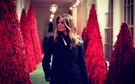 real story  melanias white house christmas