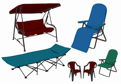 Lawn Chairs Vector Different Vectors Outdoor Chair