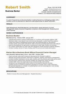 Computer Skills On Resume Example Business Banker Resume Samples Qwikresume