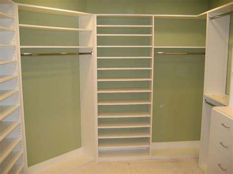Corner Closet Shelving