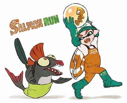 Salmon Run Splatoon Clipart Jason Clipground Comics