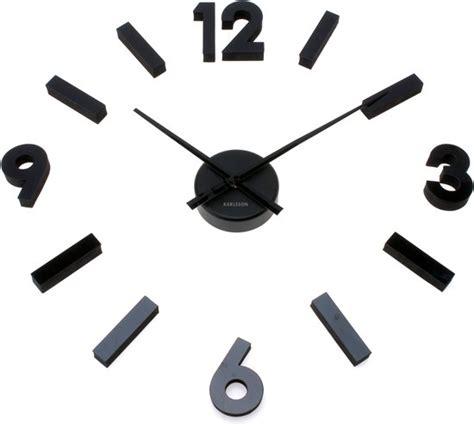 Karlsson Uhren Homepage by Bol Karlsson Klok Maxi Numbers Zwart