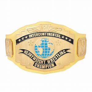 WWE Yellow Intercontinental Championship Replica Title