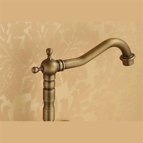 antique brass kitchen faucets affordable antique brass two wall mount kitchen faucets