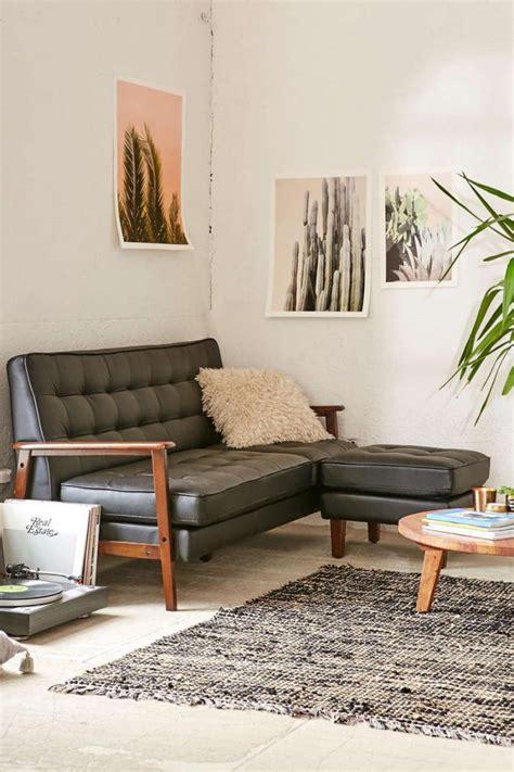 canapé faux cuir le canapé composable modèles contemporains