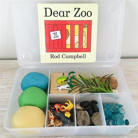 zoo playdough dear play kit boxes kits