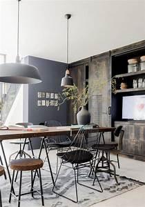 Table De Salle A Manger Industriel : la table de salle manger en 68 variantes ~ Teatrodelosmanantiales.com Idées de Décoration