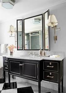 Meuble De Rangement Pour Salle De Bain : meuble rangement salle de bain noir solutions pour la ~ Teatrodelosmanantiales.com Idées de Décoration