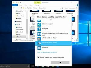 how to make windows photo viewer your default image viewer With microsoft jpeg viewer download