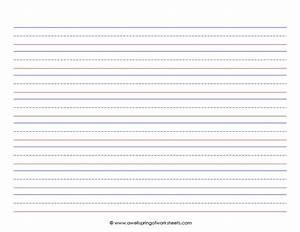 Best Photos of Landscape Writing Paper For Kindergarten ...