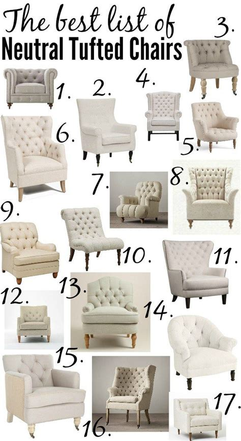 best 25 tufted chair ideas on