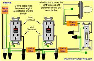 Wiring Two Gfci Outlets Series