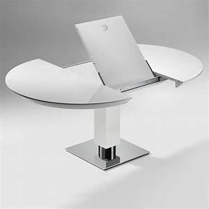 Esstisch Oval Weiß Ausziehbar : esstisch rund ausziehbar modern haus design ideen ~ Watch28wear.com Haus und Dekorationen