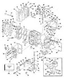 Evinrude 1984 35 - E35ecrr  Cylinder  U0026 Crankcase