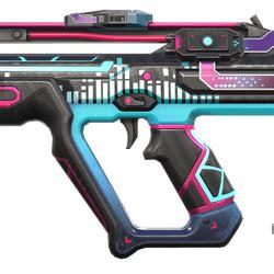 valorants  skin  turns  gun   cyberpunk