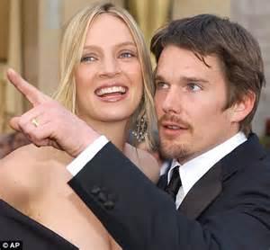 Ethan Hawke marries pregnant girlfriend in secret ceremony ...