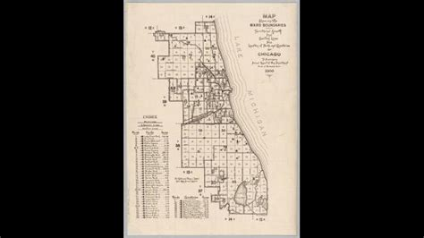 City Of Chicago Ward Map
