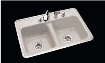 "CECO Model 740 4 Hole Ledge Cast Iron Sink 32"" x 21"
