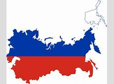 Russia Flag Map ClipArt Best