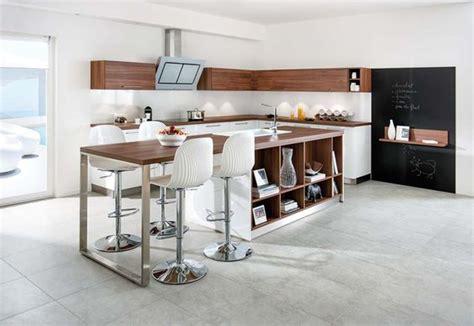 cuisine ilot central bar bar de cuisine inventif pratique et design bienchezmoi