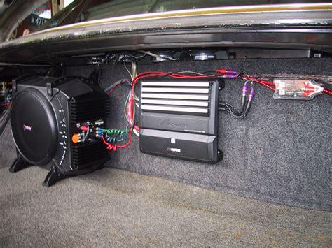 car audio installation pics
