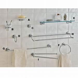 Accessoire Salle De Bain : accessoires de salle de bains glamour porte serviettes mobile salle de bains ~ Teatrodelosmanantiales.com Idées de Décoration