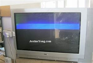 Lg Crt Tv With Picture Problem Repaired  Model  Rt