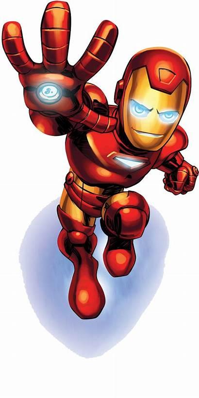 Clipart Iron Cartoon Superheroes Transparent Marvel Heroes