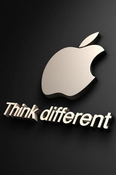 Apple Logo Think Different iPhone 6 / 6 Plus and iPhone 5 ...