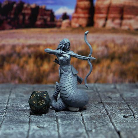 3D Printable Medusa - Tabletop Miniature by Yasashii ...