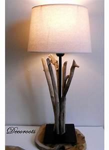 Objet Deco Zen : lampe en bois flott d coration ethnique nature et zen objet d coratif ethnique nature et zen ~ Teatrodelosmanantiales.com Idées de Décoration