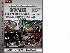 Ducati Multistrada 620 620 Dark 2006 Parts Manual Catalog