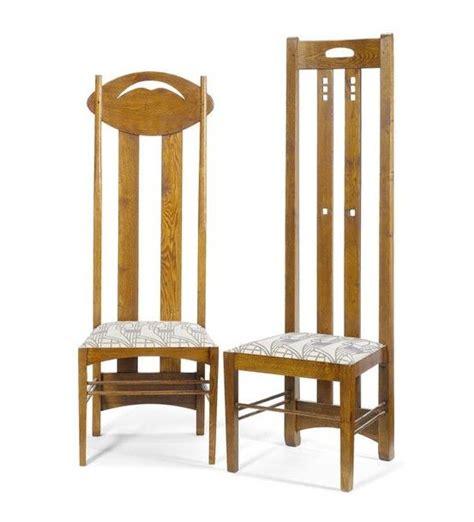 charles rennie mackintosh furniture charles rennie mackintosh 1868 1928 side chairs oak