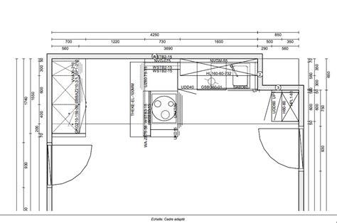 plan type de cuisine exemple de devis de cuisine équipée deviscuisine co