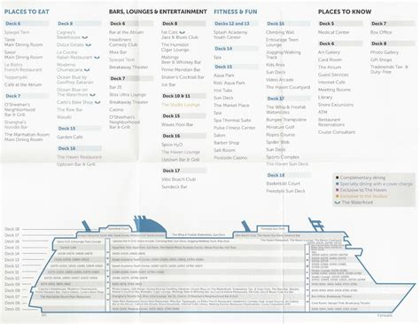 Ncl Deck Plans Printable by Breakaway Spa Prices And C Cruise With