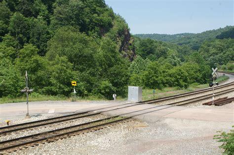 detailing  model railroad crossing
