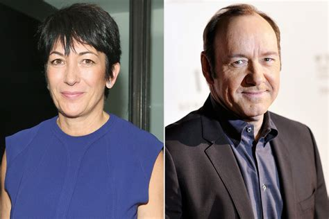 Why Kevin Spacey and Ghislaine Maxwell Sat in Queen ...
