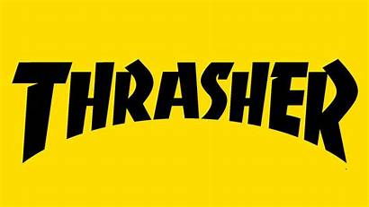 Thrasher Colors Yellow Symbol Orange History