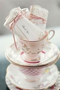 diy tea favors doily wrapped bars 75th