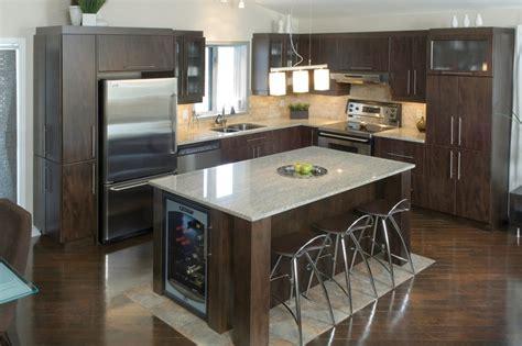 modele de cuisine americaine avec ilot central modele cuisine avec ilot alpha2 de haut de gamme