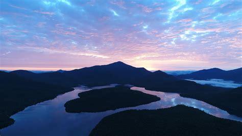hd hintergrundbilder sonnenuntergang abend  berge