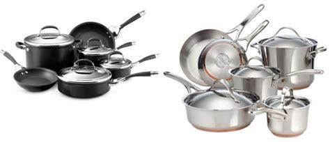 hot  professional cookware sets   reg  circulon elite hard anodized nonstick