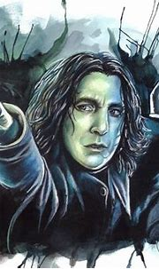 Pin by Sharon Davidson on Fantastical | Snape, Severus ...