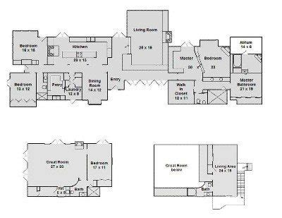 beautiful southfork ranch house plans  home plans design