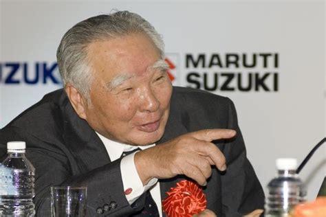 Suzuki Osamu by Suzuki Motor To Complete Gujarat Plant By 2017 Osamu