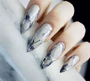 Amazing Nail Art Designs 20 White Marble Nails Art Designs Ideas 2017 Fabulous