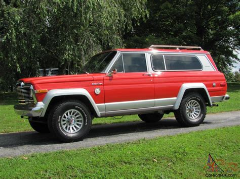 old jeep cherokee models rare classic 1979 jeep cherokee chief s model
