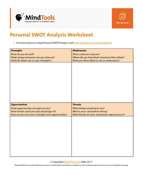 worksheet strengths and weaknesses template sle bertemu co